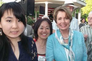 Marsha-Golangco-&-InternTiffany-Jiang-with-Nancy-Pelosi
