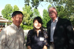eric-golangco,-capa-intern-Tiffany-Jiang-with-Congressman-George-Miller-at-his-birthday-event